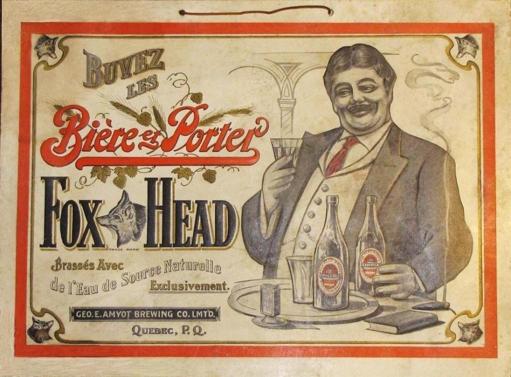 Fox Head - Bière et Porter
