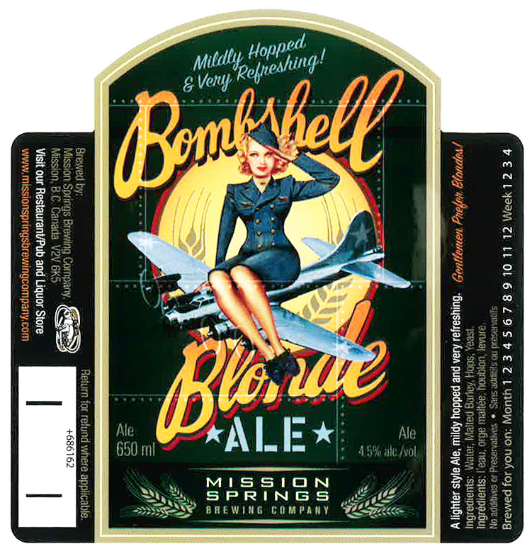 Bombshell Blonde Ale