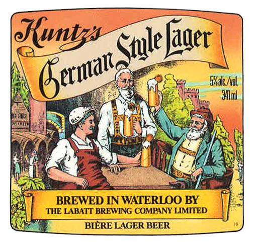 Labatt Kuntz's German Style Lager