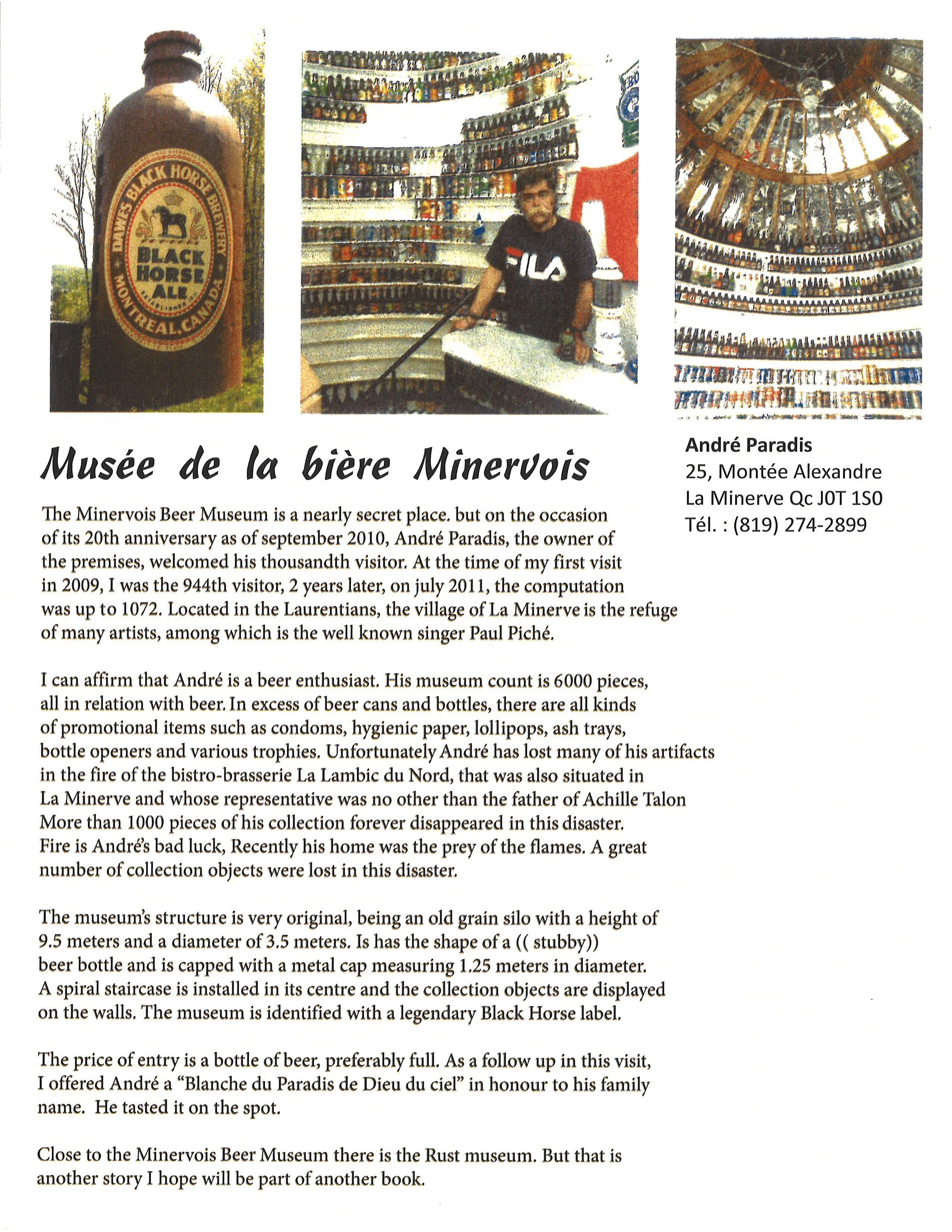 Musee de la biere Minervois