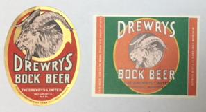 Drewrys Bock Beer