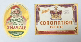 Sheas Xmas Ale & Coronation Beer